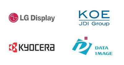 Partner: LG Display, Mitsubishi Electric, Kyocera, Data Image
